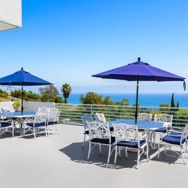 Beachside Patio Deck