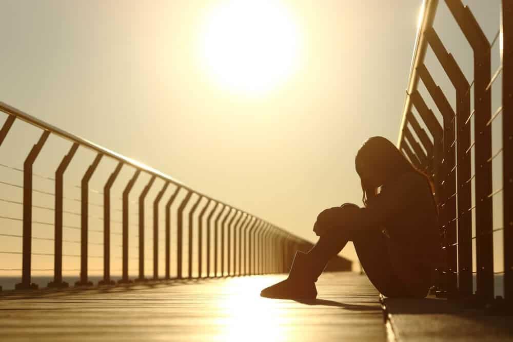Sitting on a Bridge   Depression   Beachside