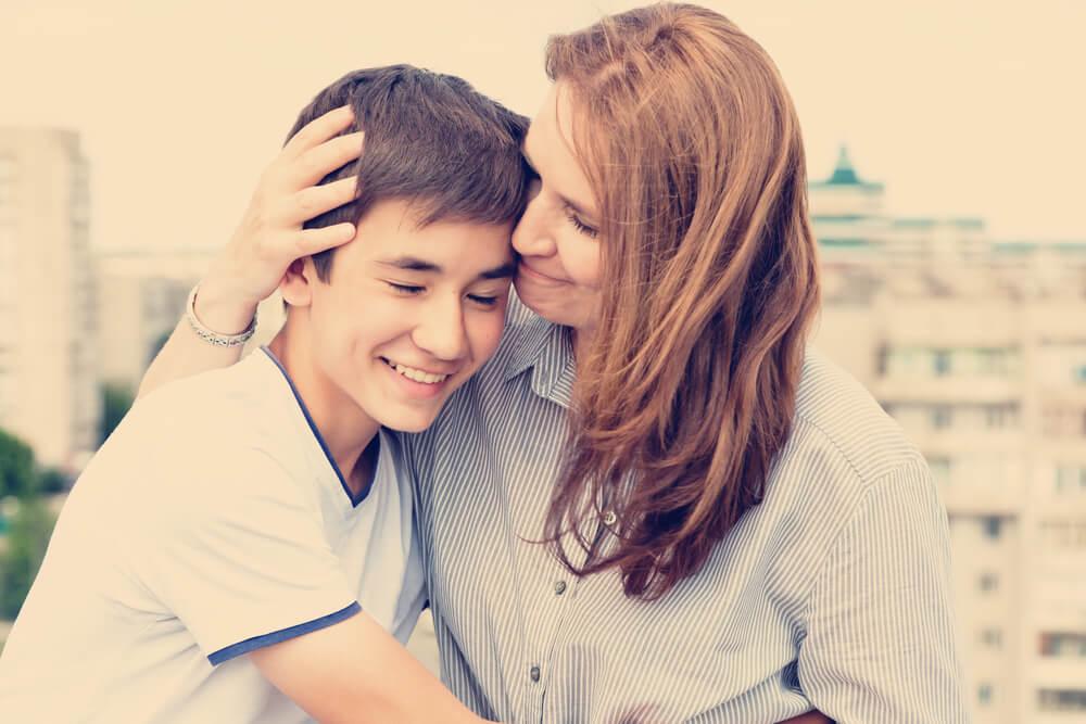 Mental Health Issues - Parent Hug - Beachside